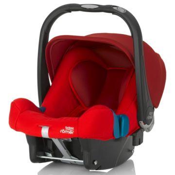 Автокресло Britax Romer Baby-Safe Plus II SHR Flame Red Trendline