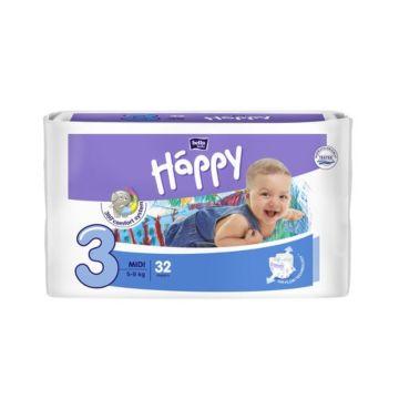 Подгузники Bella Baby Happy Midi (5-9 кг) 32 шт