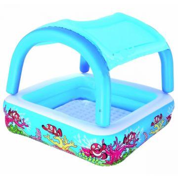 Надувной бассейн BestWay 52192BW с навесом 265 л