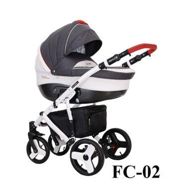 Коляска 3 в 1 Coletto Florino Carbon (FC-02)