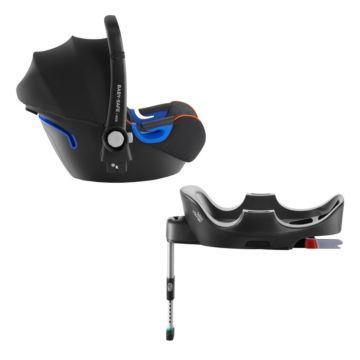 Автолюлька Britax Romer Baby-Safe i-Size + Flex Base (Black Marble)