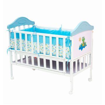 Кроватка детская Babyhit Sleepy (blue)