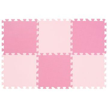 Мягкий пол FunKids Симпл-12 NT (Розовый)