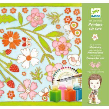 Набор для творчества Djeco Создание шелкового платка Бабочки