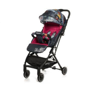 Коляска прогулочная Baby Care Daily (малиновый)