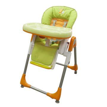 Стульчик для кормления Baby Ace (оранжево-зеленый)