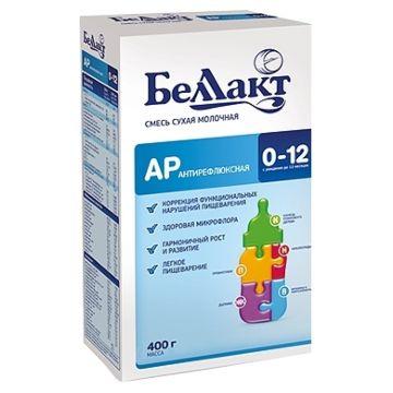 Сухая молочная смесь антирефлюксная Беллакт АР (с 0 до 12 мес.) 400 г