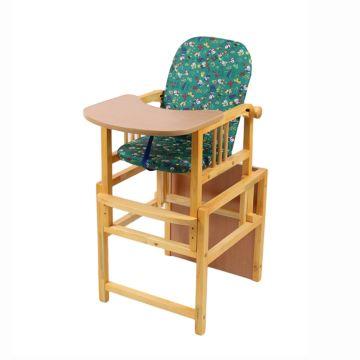Стул-стол для кормления Мега Дом Слоник (зеленый)