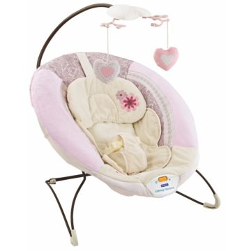 Шезлонг Fitch Baby Delux Bouncer (розовый)