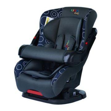 Автокресло Liko Baby LB-301 B (серый/синий)