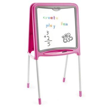 Мольберт Smoby 28109 двусторонний (розовый)