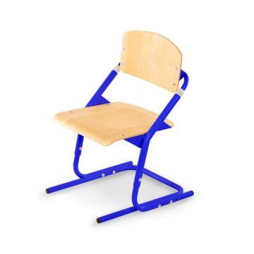 Растущий стул Pondi (клен/синий)