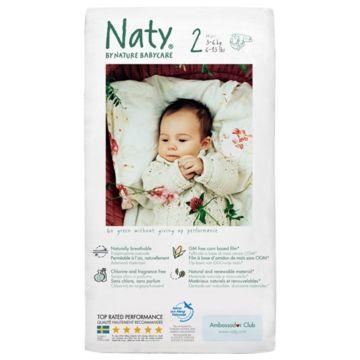 Подгузники Naty 2 (3-6 кг) 34 шт