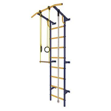 Детский спортивный комплекс Лидер С-01 М (сине-желтый)