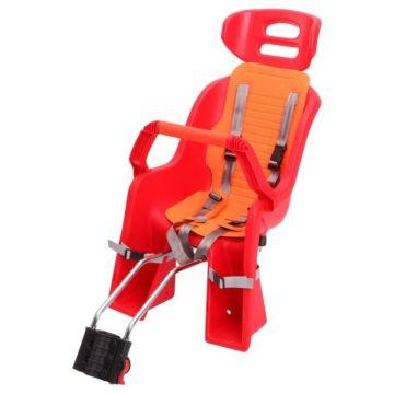 Велокресло на подседельную трубу Sunnywheel до 22 кг (красное)