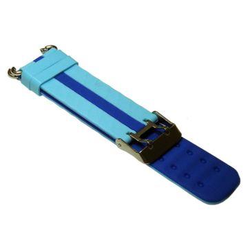 Ремешок силиконовый SmartBabyWatch Q90 (голубой)