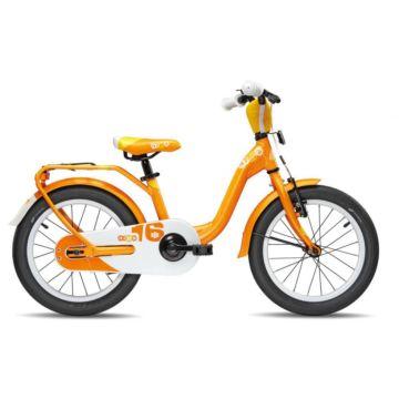 """Велосипед S'cool niXe 16"""" (2016) оранжевый"""