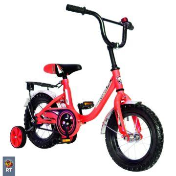 """Детский велосипед RT Мультяшка 1204 12"""" (Красный)"""