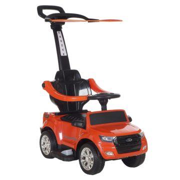 Электроминикар Ford Ranger с ручкой Покраска (оранжевый)