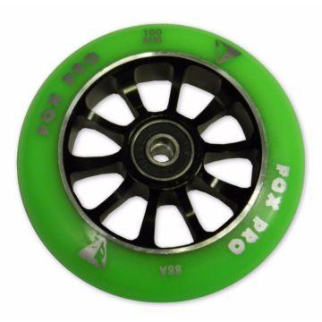 Колесо для самоката FOX Winner 100 мм (зеленое)