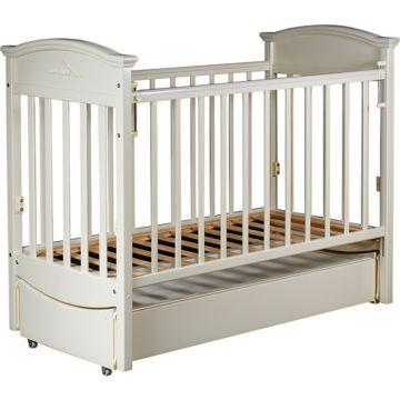 Кроватка детская Birichino Napoleon VIP с продольным маятником (ваниль)
