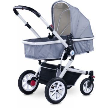 Коляска 2 в 1 Caretero Compass (grey)