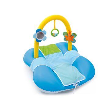 Развивающий коврик Smoby Надувной 211279 (Голубой)