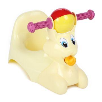 Горшок-игрушка Plastic Centre Зайчик (Жёлтый)
