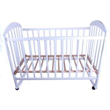 Кроватка детская Наполеон Луна (качалка-колесо)