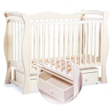 Кроватка детская Sweet Baby Dolce Vita (Поперечный маятник) Avorio