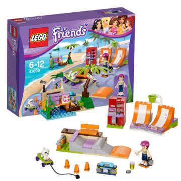 Конструктор Lego Friends 41099 Подружки Скейт-парк Хартлейк сити