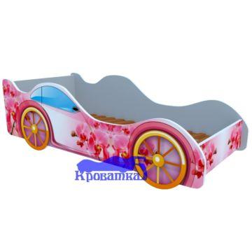 Кровать-машина Кроватка5 Машинки (Орхидея)