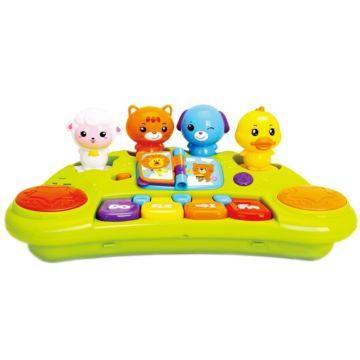 Развивающая игрушка Huile Пианино со зверятами