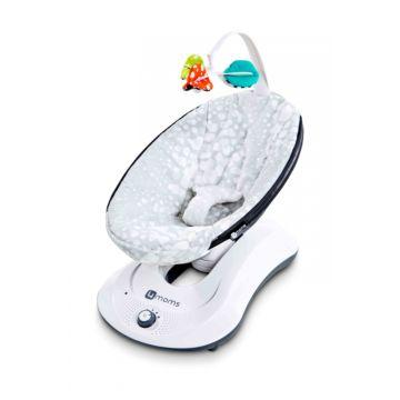 Кресло-качалка 4moms RockaRoo (серый плюш)
