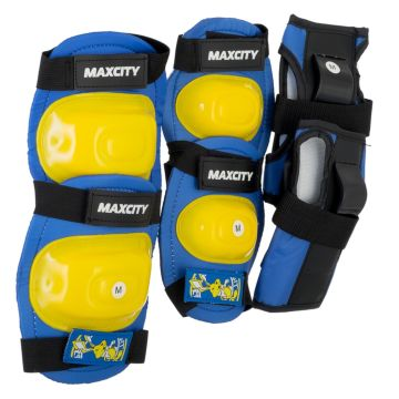 Комплект защиты MaxCity Little Rabbit (голубой)
