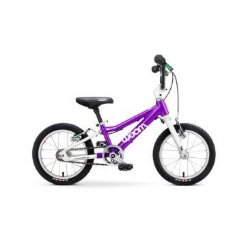 """Детский велосипед Woom 2 14"""" (фиолетовый)"""