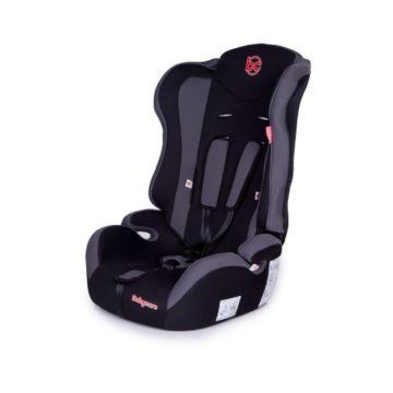 Автокресло Baby Care Upiter (черно-серое)