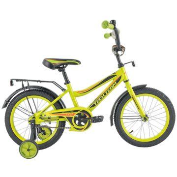 """Детский велосипед TechTeam 136 18"""" 2018 (салатовый)"""
