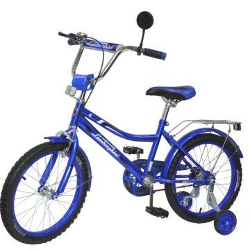 "Детский велосипед Lamborghini 18"" (синий)"