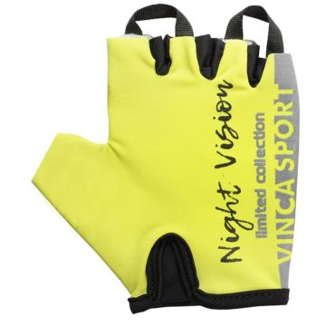Велоперчатки Vinca Sport (Night Vision Kids) 5XS