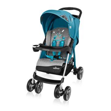 Коляска прогулочная Baby Design Walker Lite (бирюзовая)