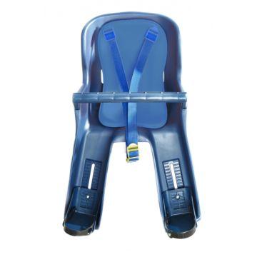 Велокресло на подседельную трубу Vinca Sport до 15 кг (синий)