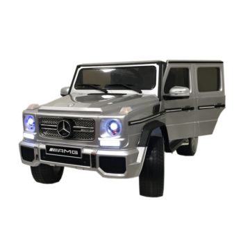 Электромобиль Coolcars Mercedes-Benz G65 AMG (серебро)