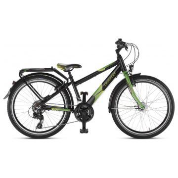 """Подростковый велосипед Puky Crusader 24-21 Alu City light 24"""" (black/green)"""