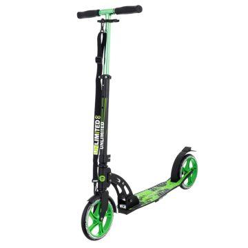 Самокат Unlimited NL260-205 (зеленый) ДИСКОНТ