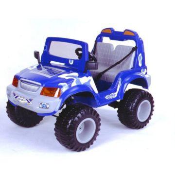 Электромобиль Chien Ti Off Roader 4x4 с пультом управления (синий)