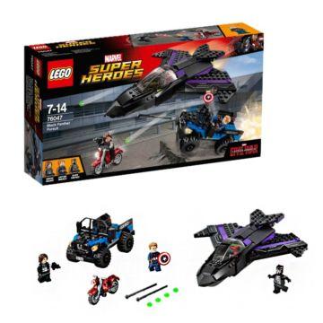 Конструктор Lego Super Heroes 76047 Супер Герои Преследование Чёрной Пантеры