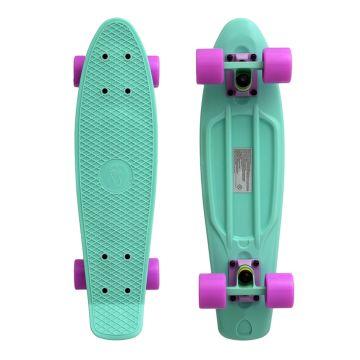 "Мини-круизер Fish Skateboards 22"" (салатовый)"