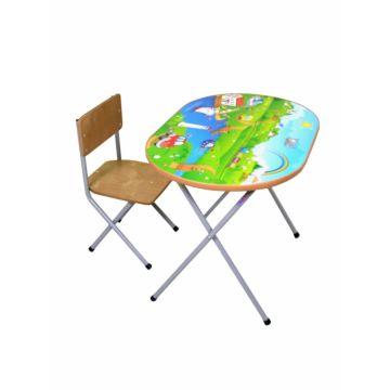 Комплект детской мебели Фея Досуг 102 (Моторчики)