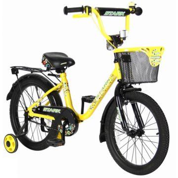 """Детский велосипед Velolider Stark 18"""" Желтый/Черный"""